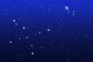 【お耳デザイン】日本人にぴったりの星空デザイン